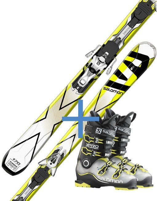 Ski and boot very high level - Gressoney Ski rental