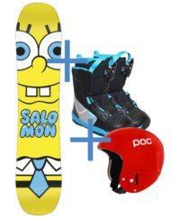 Noleggia il tuo Kit Snowboard Junior + Casco