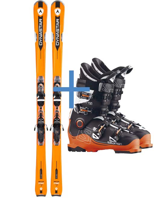 Skis and Boots Professional Level - Monterosa Ski Rental