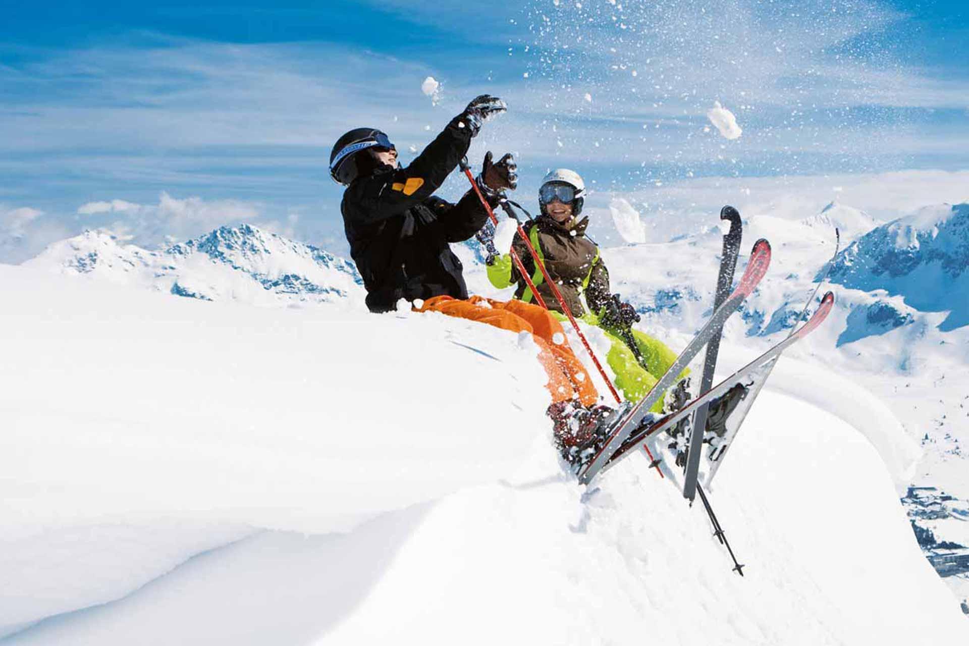 Bambini sulla neve - Divertimento Monterosa Gressoney