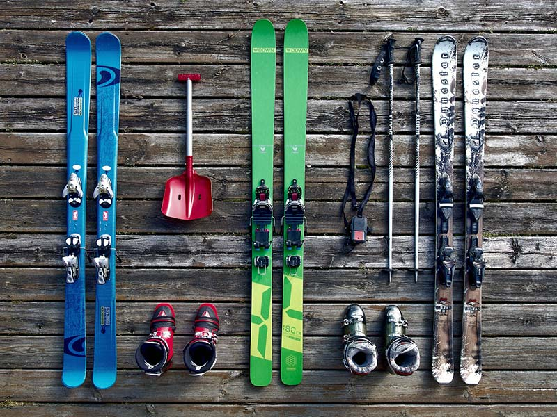 How to choose your equipment - Ski Rental