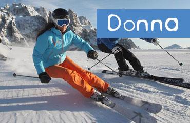 Noleggio sci e attrezzatura da donna - Ermanno Sport - Monterosaski