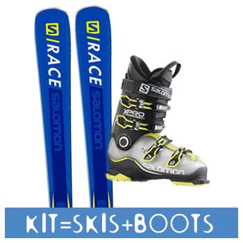 Rent Kits for ski in Italy - Gressoney